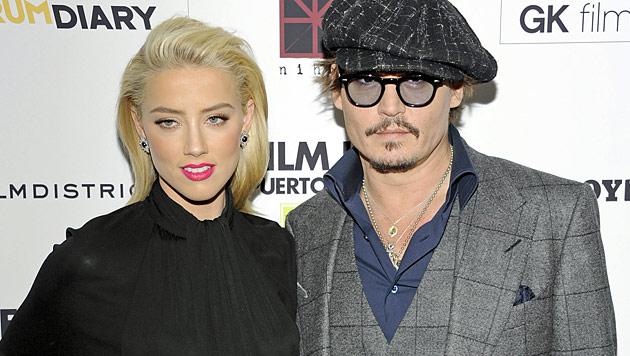 Johnny Depp von Amber Heard für eine Frau verlassen (Bild: dapd)