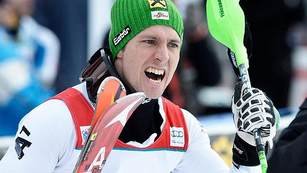 Marcel Hirscher zermürbt seine Konkurrenten (Bild: EPA)