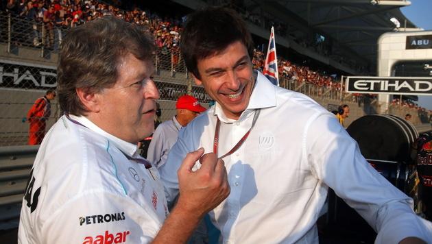 Toto Wolff beerbt Norbert Haug als Mercedes-Sportchef (Bild: EPA)
