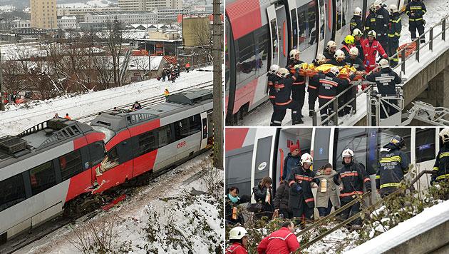 """Wien: Crash wegen """"menschlichen Versagens"""" (Bild: APA/ROLAND SCHLAGER)"""