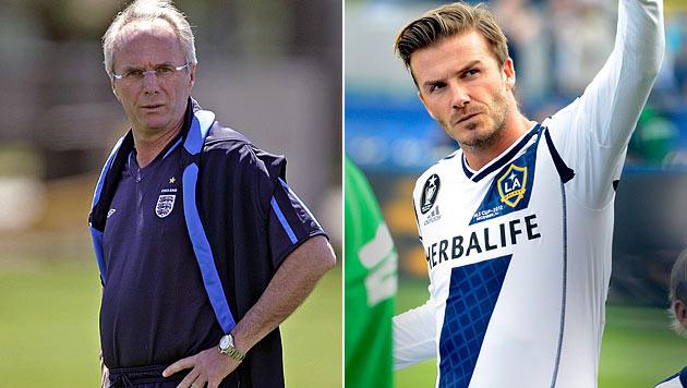 Eriksson will Beckham zu Al-Nasr nach Dubai holen (Bild: AFP, EPA)