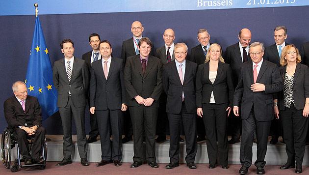 Finanztransaktions-Steuer: Gr�nes Licht der Finanzminister (Bild: EPA)