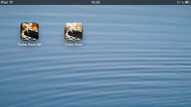 """Gefälschte """"DiRT 3""""-App prellt Apple-Nutzer um ihr Geld (Bild: Screenshot)"""