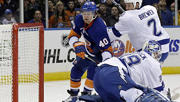 Grabner trifft bei 4:3-Sieg der New York Islanders (Bild: dapd)