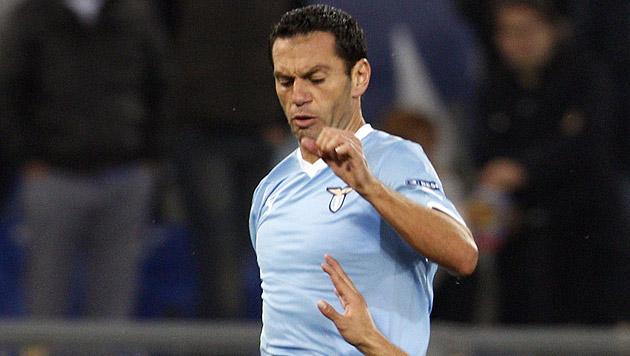 Lazio-Profi Zauri rettet M�dchen vor dem Ertrinken (Bild: dapd)