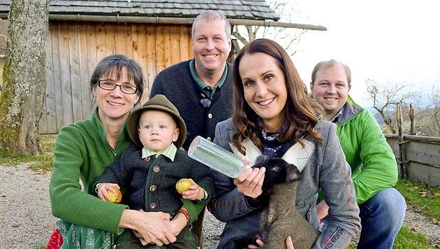 """Maggie Entenfellner  �ber neue Sendung: """"Das bin total ich"""" (Bild: ORF/Ab Hof TV-Produktion)"""