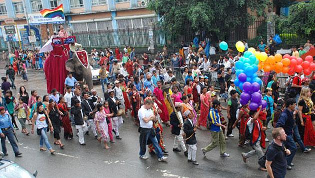 "Neues Geschlecht in Nepal: Mann, Frau oder ""Drittes"" (Bild: Blue Diamond Society, Nepal)"