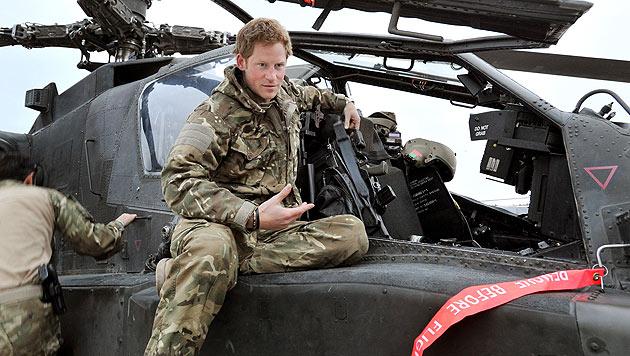 Prinz Harry t�tete Taliban im Afghanistan-Einsatz (Bild: dapd)