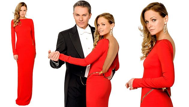 TV-Stars zeigen ihre Traumroben f�r den Opernball (Bild: ORF/Thomas Ramstorfer)