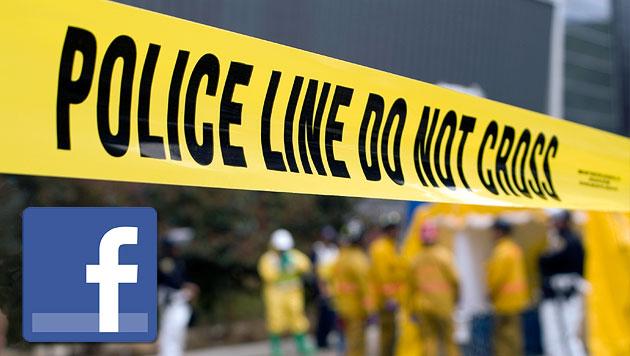 USA: Verbrecher k�ndigte seinen Tod �ber Facebook an (Bild: thinkstockphotos.de, facebook.com)