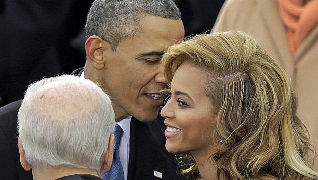 Beyonces Hymne für Obama kam nur vom Band (Bild: dapd)
