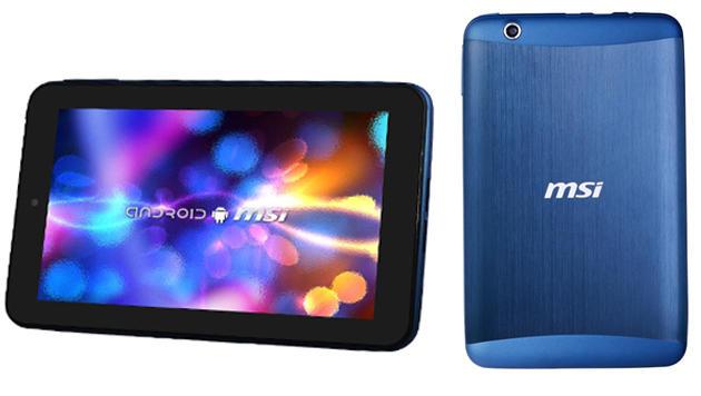 MSI steigt mit Android-Tablet um 130 Euro in den Ring (Bild: MSI)