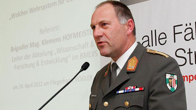 "Militärkommandant zerlegt ÖVP-Pläne: ""Alles kalter Kaffee"" (Bild: Bundesheer/Gerhard SIMADER)"