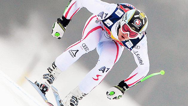 Reichelt in Kitzbühel erneut Zweiter hinter Svindal (Bild: EPA)