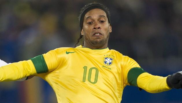 Ronaldinho feiert Comeback in Brasiliens Team (Bild: EPA)