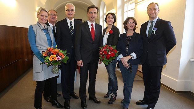 Graz: Elke Kahr letztlich gescheitert - Schröck ist Vize (Bild: APA/MARKUS LEODOLTER)