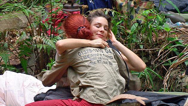 Hier l�stert sich Fiona aus dem Dschungelcamp (Bild: (c) RTL)