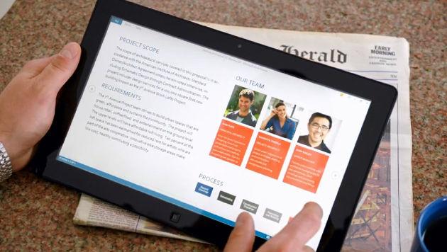 Microsoft bringt angeblich Office auf Apples iPads (Bild: Screenshot, YouTube.com)