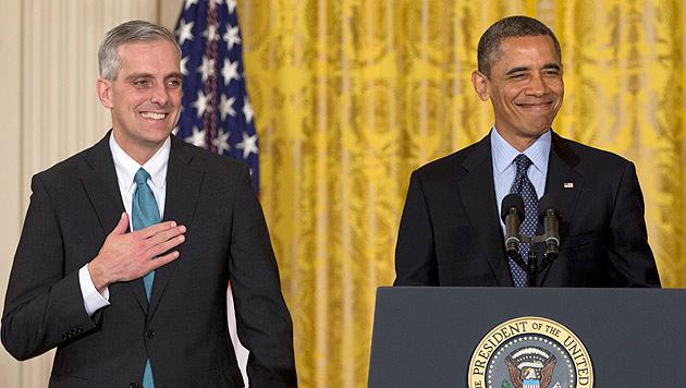 """Obama macht """"alten Freund"""" zum neuen Stabschef (Bild: dapd)"""