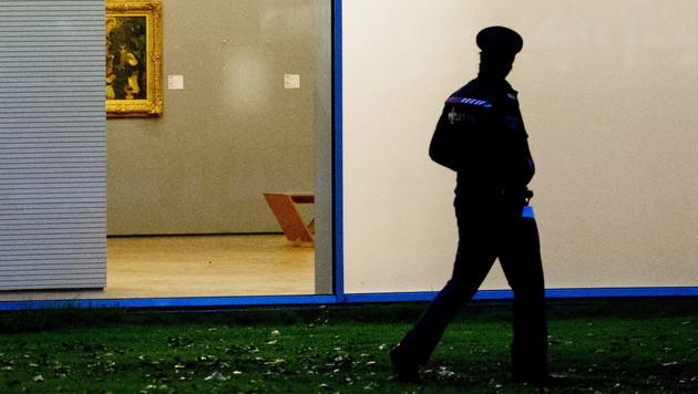 Rotterdamer Coup: Verdächtiger wollte Bilder verbrennen (Bild: EPA)