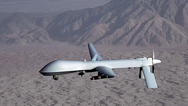 Russland: US-Drohne war nahe angegriffenem Konvoi (Bild: EPA (Symbolbild))