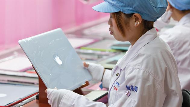 Schlimme Zustände bei Apple-Zulieferer  Pegatron in China (Bild: Apple)