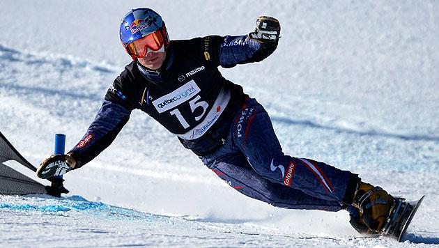 Snowboard-Ass Benjamin Karl holt erneut WM-Gold (Bild: EPA)