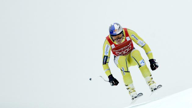 Svindal gewinnt Super-G vor ÖSV-Youngster Mayer (Bild: APA/HANS KLAUS TECHT)