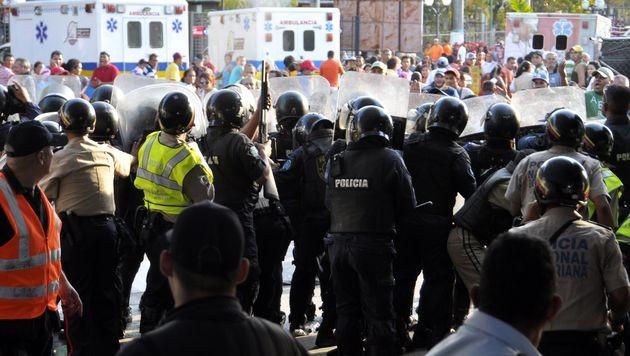 Dutzende Tote bei Gef�ngnismeuterei in Venezuela (Bild: AFP)