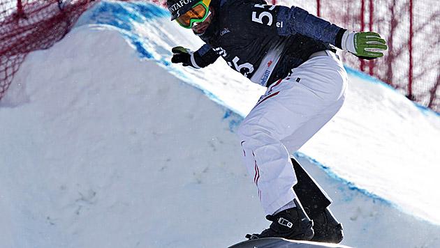 Markus Schairer holt sich in Kanada Silber im SBX (Bild: dapd)