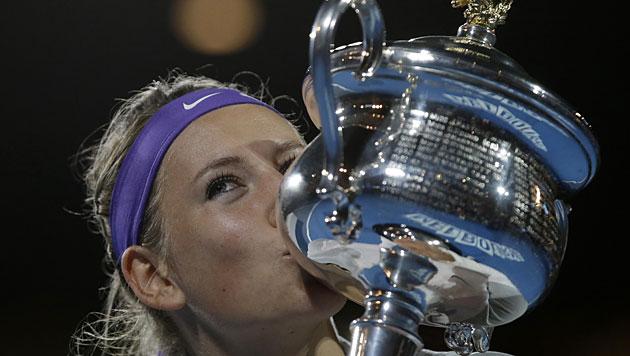 Viktoria Asarenka triumphiert erneut in Melbourne (Bild: dapd)