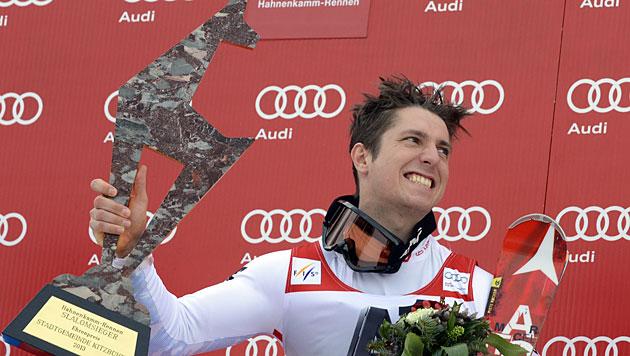 Hirscher gewinnt Slalom, Kostelic holt Kombi-Wertung (Bild: APA/Hans Klaus Techt)