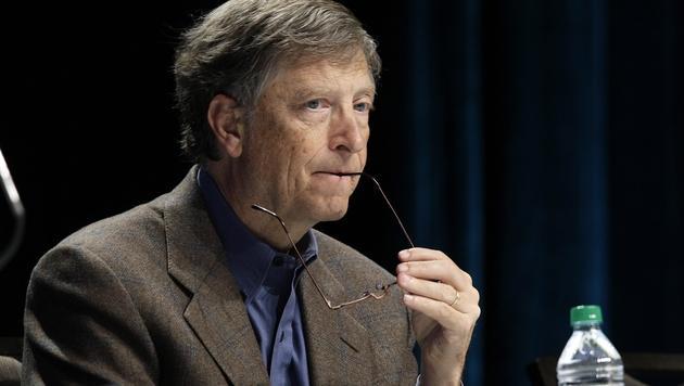 """Bill Gates nennt Edward Snowden """"Gesetzesbrecher"""" (Bild: AP)"""