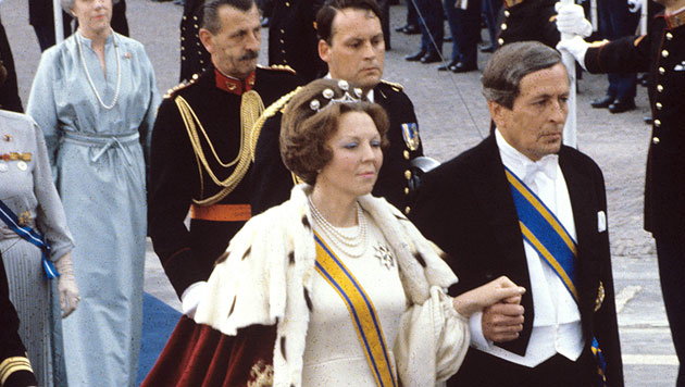NL: Königin Beatrix dankt nach 33 Jahren ab (Bild: dpa)