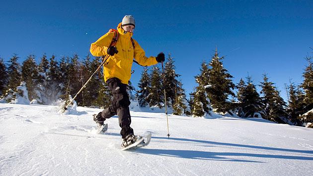 Tipps f�r das Wandern mit Schneeschuhen (Bild: thinkstockphotos.de)