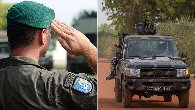 Regierung berät über Mali-Mission des Heeres (Bild: APA/HELMUT FOHRINGER, EPA)