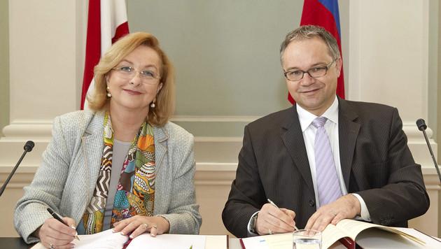 """Steuerdeal mit Liechtenstein fix - """"großer Wurf"""" (Bild: APA/PHOTONEWS.AT/GEORGES SCHNEIDER)"""