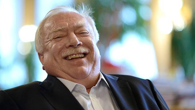 W: Häupl feierte 25-Jahr-Jubiläum in der Stadtregierung (Bild: APA/HANS KLAUS TECHT)