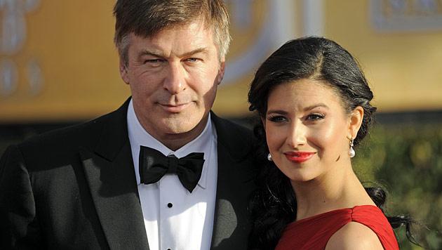 Alec Baldwins junge Ehefrau erwartet angeblich ein Baby (Bild: dapd)