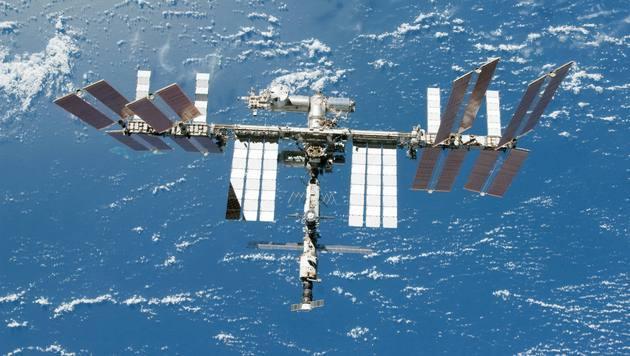 ISS-Astronauten stehen via Google+ Rede und Antwort (Bild: NASA)