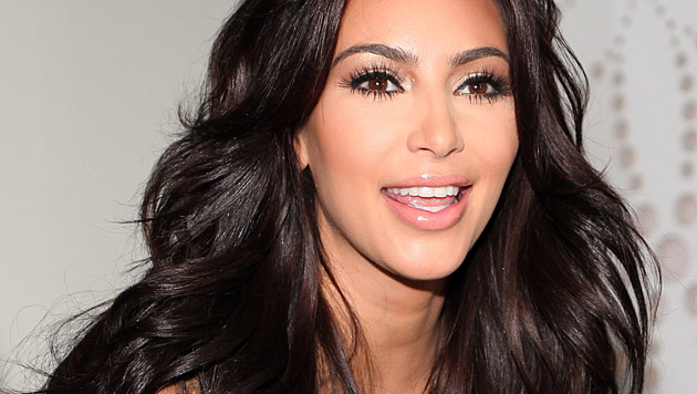 Kim Kardashian: Nachwuchs kommt nicht ins TV (Bild: EPA)