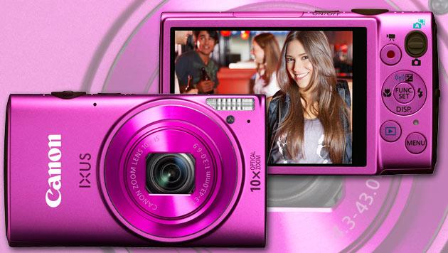 Neue Powershot und Ixus-Modelle von Canon (Bild: Canon, krone.at-Grafik)