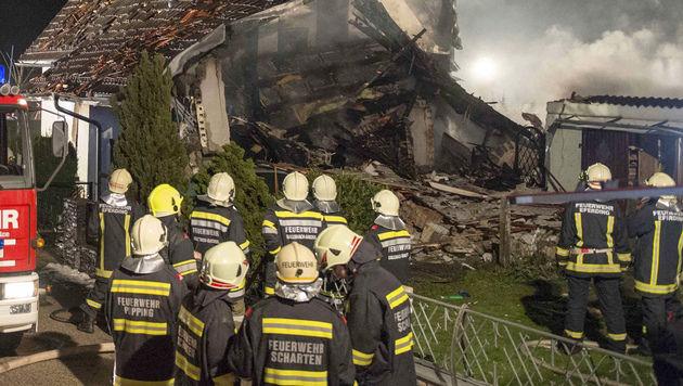 49-Jähriger nach Hausexplosion in OÖ angeklagt (Bild: WERNER KERSCHBAUMMAYR/FOTO-KERSCHI.AT)