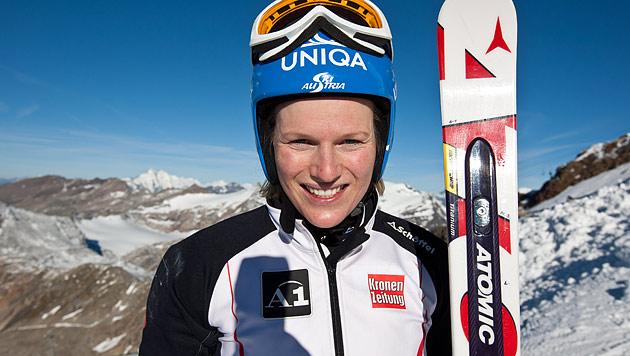 """Marlies Schild trainiert wieder auf Skiern: """"Knie hält"""" (Bild: APA/EXPA/Johann Groder/EXPA/ Johann Groder)"""