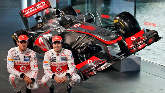 McLaren feiert 50. Geburtstag und das 735. Rennen (Bild: EPA)