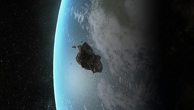 Asteroid rast am 15. Februar knapp an Erde vorbei (Bild: Thinkstockphotos (Symbolbild))