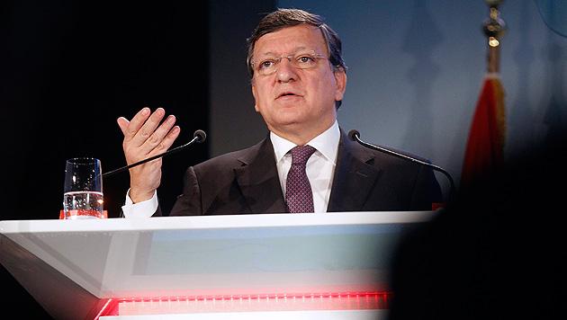 """Barroso in Wien: """"Österreich-Rabatt nicht entschieden"""" (Bild: EPA)"""