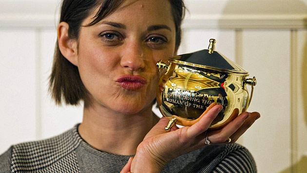 """Cotillard mit """"Hasty Pudding""""-Preis ausgezeichnet (Bild: EPA)"""