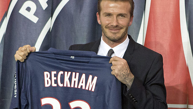 David Beckham spendet seine Fußball-Gage (Bild: AP)