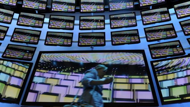 Licht am Ende des Tunnels für Sharp und Panasonic (Bild: Berthold Stadler/dapd)